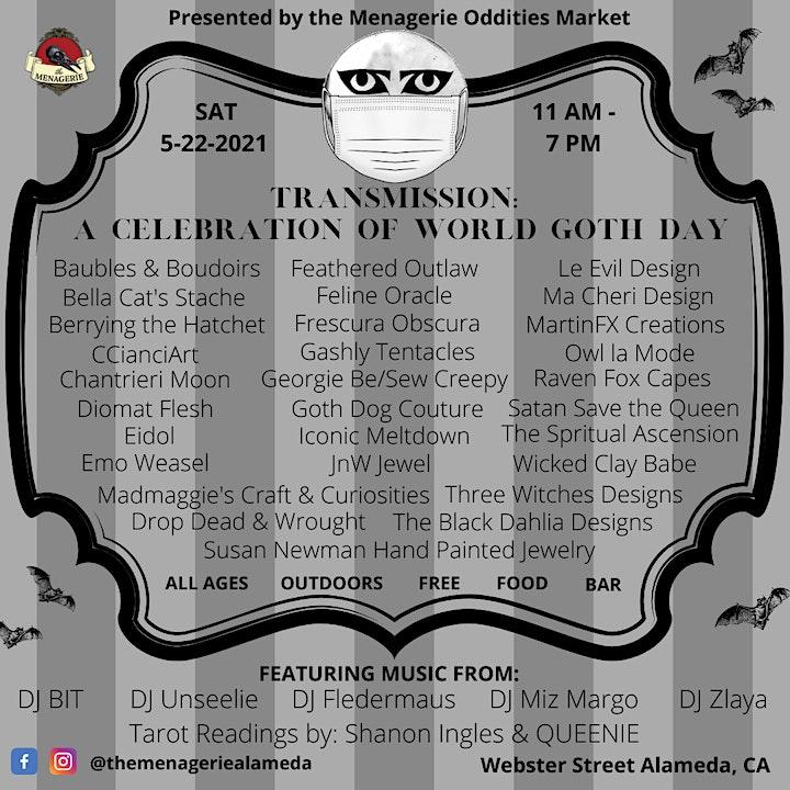 TRANSMISSION: A Celebration of World Goth Day image