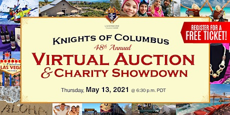 Knights of Columbus 48th Annual Virtual Auction & Charity Showdown tickets