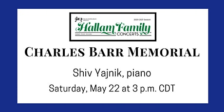 CHARLES BARR MEMORIAL: a Hallam Family Concert tickets