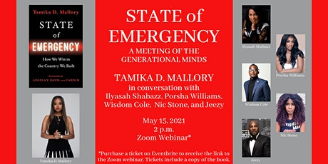 Tamika D. Mallory STATE OF EMERGENCY: A Meeting of the Generational Minds tickets