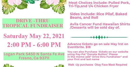 Drive-Thru Tropical Fundraiser tickets
