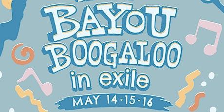 BAYOU BOOGALOO PATRON PARTY tickets