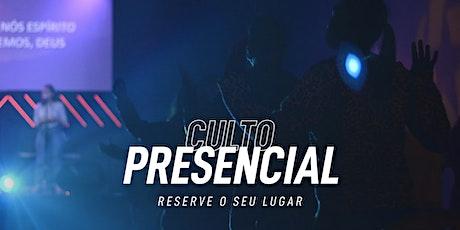 Culto Domingo 25/04/2021 - 18h ingressos