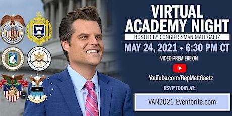 Virtual Academy Night 2021 tickets