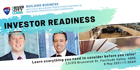 Building Business: Investor Readiness tickets