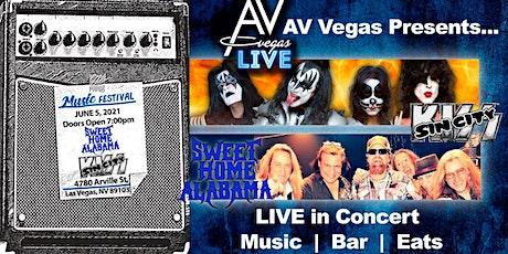 Sin City Kiss & Sweet Home Alabama - an AV Vegas Live experience! tickets