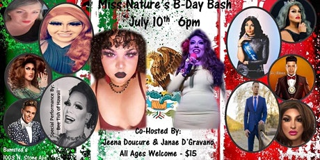 Miss Nature's 32nd B-Day Bash ; Supporting Undocumented Youth tickets