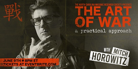 The Art of War: A Practical Approach, a presentation by Mitch Horowitz tickets