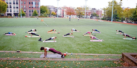 30/30 Outdoor Class with Barre3 14th Street + Past Tense Yoga Studio tickets