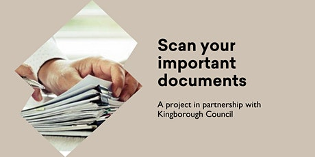 Scan Your Important Documents @ Middleton Hall tickets