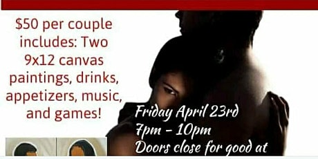 420 Friendly Date N paint RnB Game Night tickets