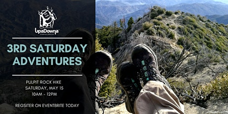 3rd Saturday Adventures: Pulpit Rock Hike tickets