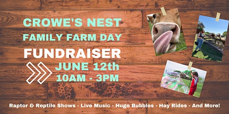 Crowe's Nest Family Farm Day Fundraiser tickets