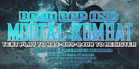 Boom Bap & Mortal Kombat tickets