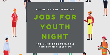 Jobs For Youth Information Night (Exhibitor Invitation) tickets