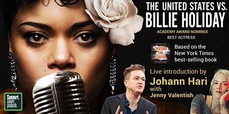 The United States vs Billie Holiday with  Johann Hari tickets