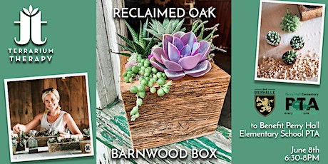 In-Person Workshop-Reclaimed Oak Barnwood Box at Das Bierhalle tickets