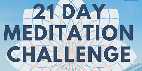 21 Day Meditation Challenge (Online) tickets