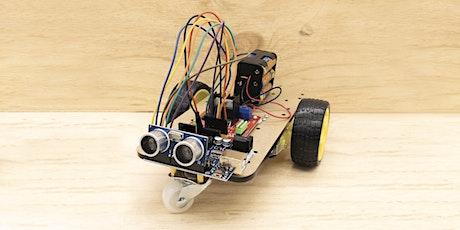 Robotics Beginners Workshop: Wall Dodging Robot. Seniors, Adults + Kids. tickets