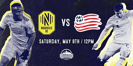 Nashville SC  WATCH PARTY: Nashville SC vs New England 5/8 tickets