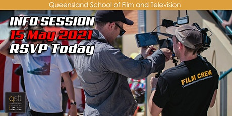 QSFT MEDIA & FILM SCHOOL CAREER INFO SESSION - Saturday, 15th May 2021 tickets
