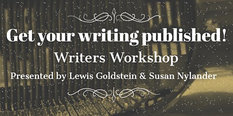 Publishing your Writing Workshop tickets