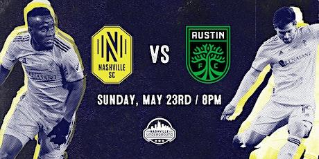Nashville SC  WATCH PARTY: Nashville SC vs Austin FC 5/23 tickets