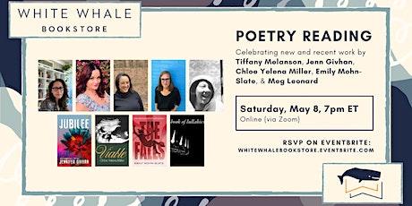 Poetry Reading: Melanson, Givhan, Miller, Mohn-Slate, and Leonard tickets