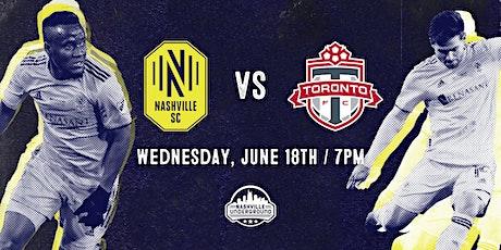 Nashville SC  WATCH PARTY: Nashville SC vs Toronto FC 6/23 tickets