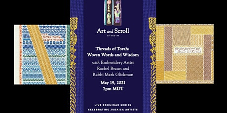 "Art and Scroll Studio presents  ""Threads of Torah"" tickets"