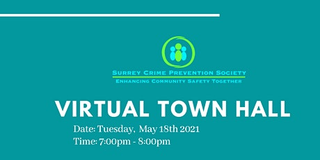 Surrey  Crime Prevention Society Townhall tickets