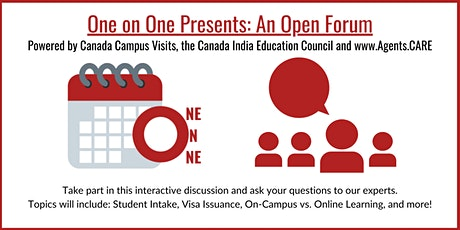 One on One Webinar: Open Forum tickets