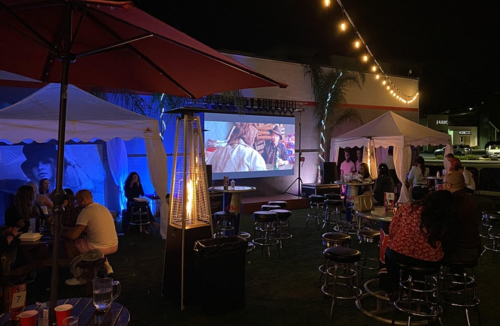Dinner & Outdoor Movie: Mad Max: Fury Road @7PM image