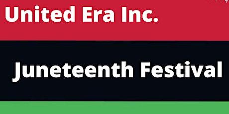 United Era's Juneteenth Festival tickets