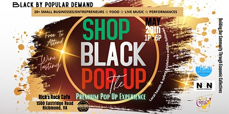 Shop Black Pop Up: The Premium Pop Up Experience tickets