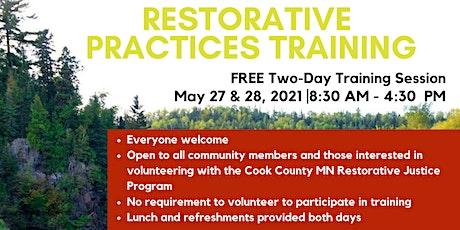 Restorative Practices Training tickets