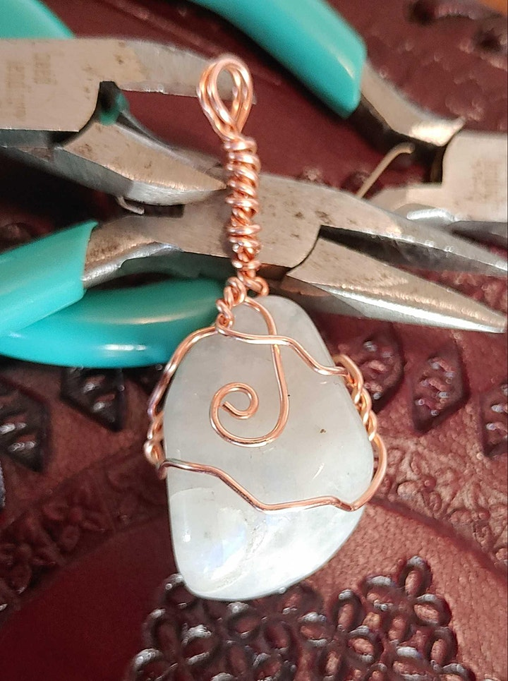 Introduction to Wire Wrapped Jewelry: Pendants image