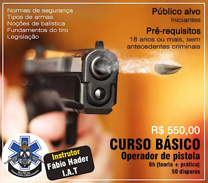 Imagem do evento Curso de Básico - Operadora de Pistola