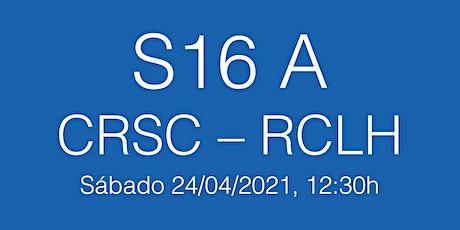 S16 B Lliga Cat J5 CRSC - RCLH, sábado 24/04/21 - 12.30h entradas