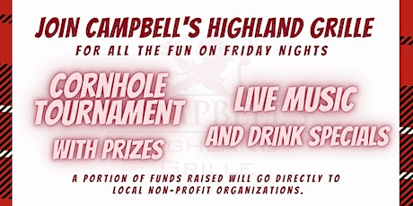 Friday Night Cornhole and Live Music Benefitting Upstream Prevention tickets