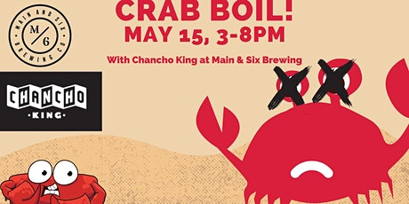 Crab Boil (Cangrejada) with Main & Six Brewery tickets
