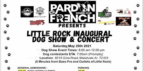 Little Rock's Inaugural Dog Show and Concert tickets
