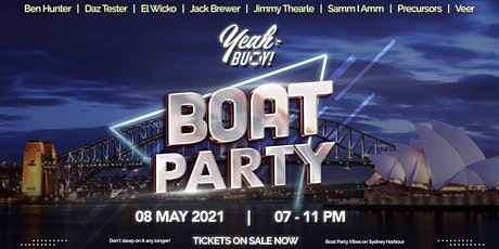 Yeah Buoy - Boat Party tickets