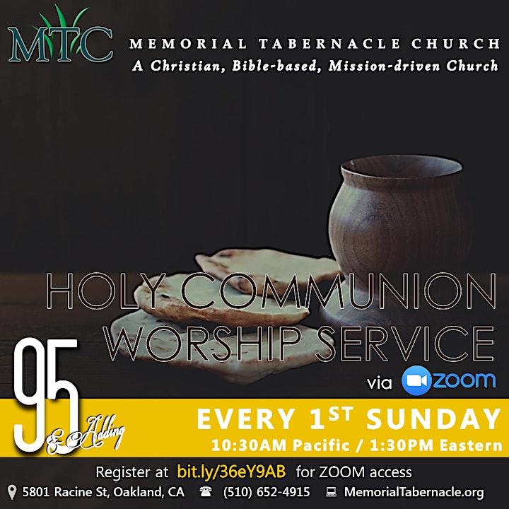 Holy Communion Worship Service image