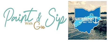 Paint & Sip - Waterfront tickets