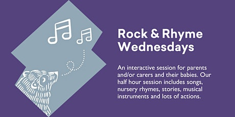 Rhyme Wednesdays - Bookings REQUIRED - @ Kingston Library tickets