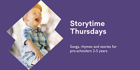 Storytime Thursdays - Bookings REQUIRED - @ Kingston Library tickets