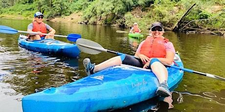 Women's Easy Rapids Kayaking // Sunday 5th December tickets