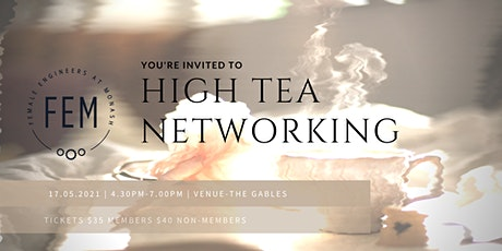 High Tea Networking with FEM tickets