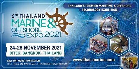 Thailand Marine & Offshore Expo 2021 tickets